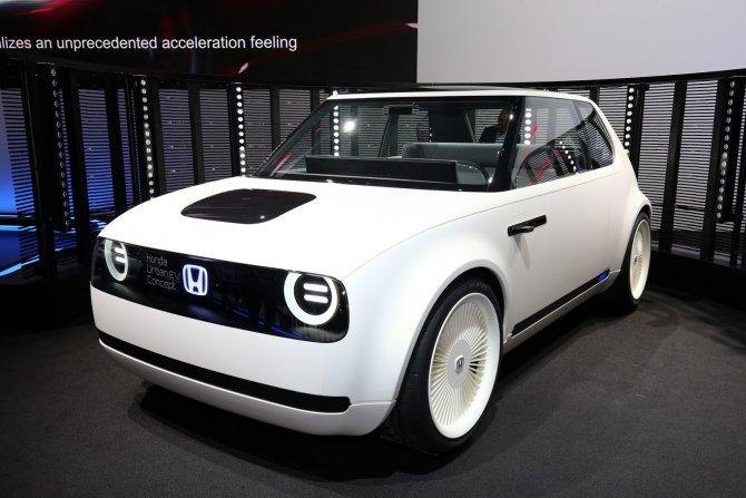 Honda Urban EV в Женеве 6