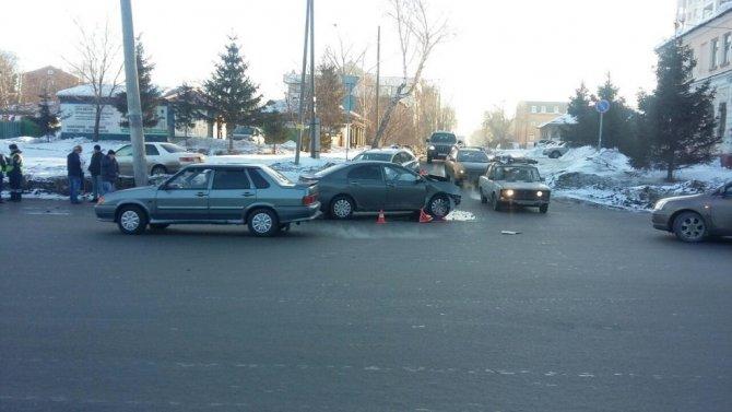 Три человека пострадали в ДТП в Омске (1)