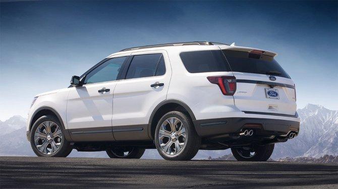Ford Explorer 2018 1