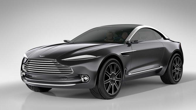 Aston Martin DBX концепт 2