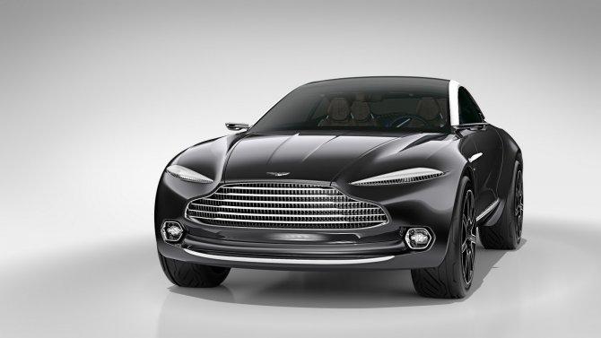 Aston Martin DBX концепт 3