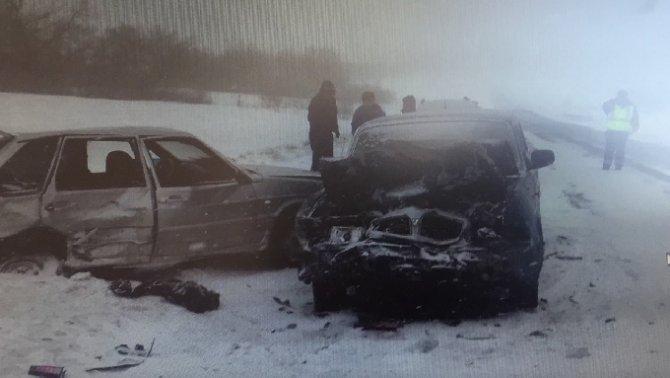 Трое взрослых и ребенок пострадали в ДТП в Красноармейском районе Саратовской области