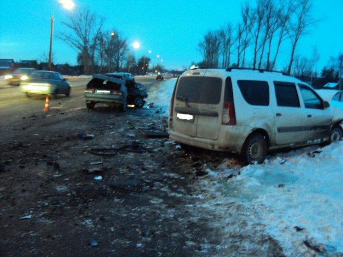 Женщина-водитель погибла в ДТП в Тамбове (4)