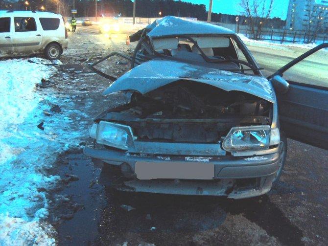 Женщина-водитель погибла в ДТП в Тамбове (3)