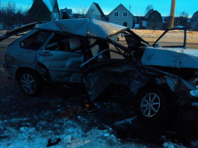 Женщина-водитель погибла в ДТП в Тамбове (2)
