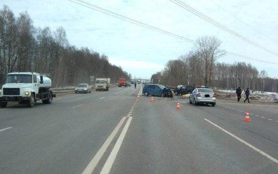 Водитель «Нивы» погиб в ДТП в Выгоничском районе (3)