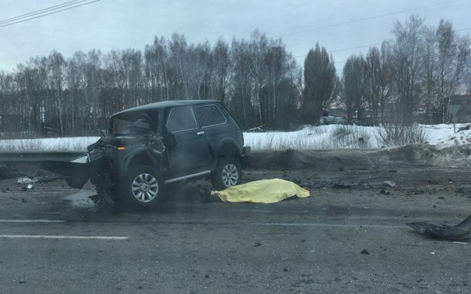 Водитель «Нивы» погиб в ДТП в Выгоничском районе (4)