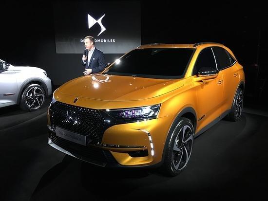 DS7 Crossback в Китае