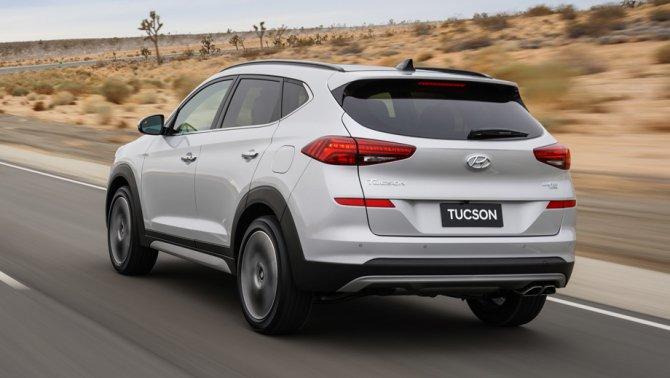 2 Hyundai Tucson 2019