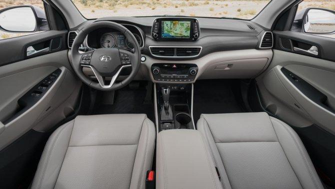 4 Hyundai Tucson 2019