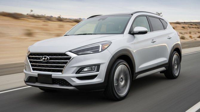 1 Hyundai Tucson 2019
