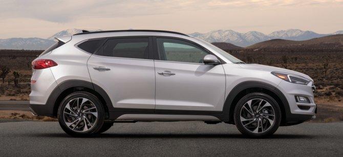 3 Hyundai Tucson 2019