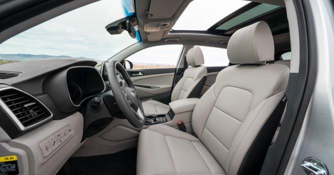 5 Hyundai Tucson 2019