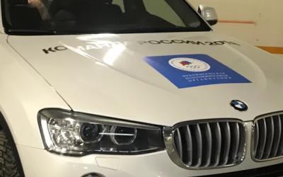 Первый подаренный олимпийцам BMW выставлен на продажу в Интернете