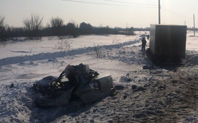 Под Сызранью столкнулись «Гранта», ВАЗ и грузовик – погиб человек