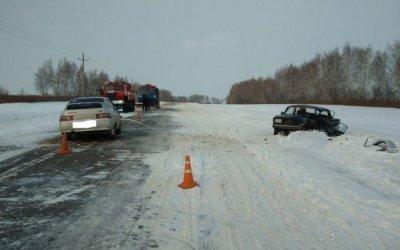 В ДТП в Мичуринском районе погиб водитель ВАЗа