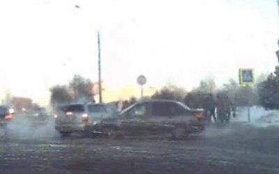 В Рыбинске автомобиль влетел в толпу людей