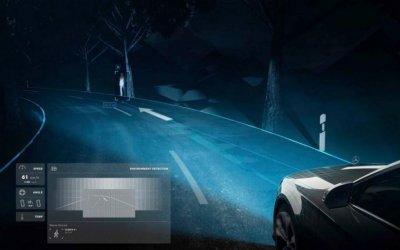 Новые фары для Mercedes будут проецировать на дорогу