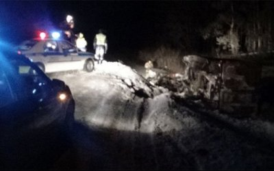 В ДТП с грузовиками под Южноуральском погиб человек