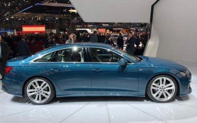 Audi показала обновленную версию седана A6