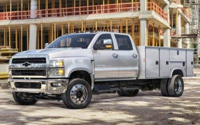 Новый Chevrolet Silverado HD