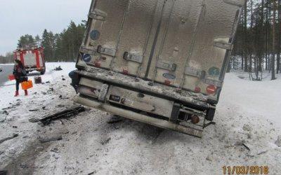В ДТП на трассе «Кола» погиб водитель BMW