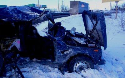 Две женщины погибли в ДТП с фурой под Тамбовом