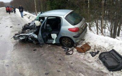 В ДТП с лесовозом под Петрозаводском пострадал человек