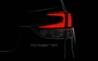 Новое поколение Subaru Forester показали на тизере перед премьерой