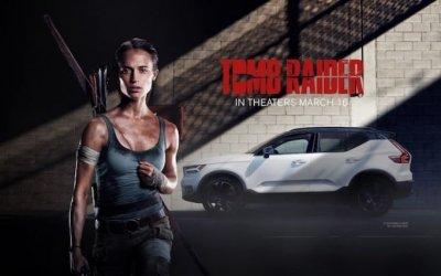 Кроссовер Volvo XC40 стал «автомобилем героя» ввыходящем наэкраны фильме «Tomb Raider: Лара Крофт»