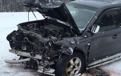 В ДТП в Сосногорском районе погиб мужчина и пострадали дети