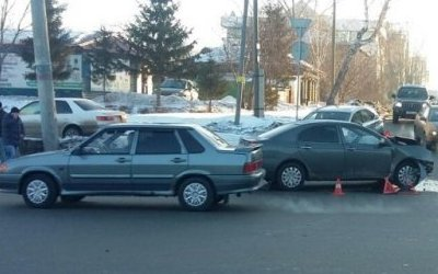 Три человека пострадали в ДТП в Омске