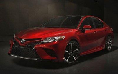 В России начнут выпускать абсолютно новый седан Toyota Camry