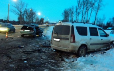 Женщина-водитель погибла в ДТП в Тамбове