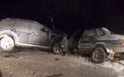Три человека пострадали в ДТП в Сосновском районе