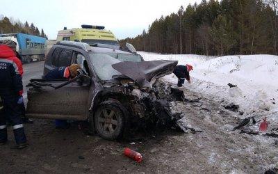 Водитель иномарки погиб в ДТП в Свердловской области
