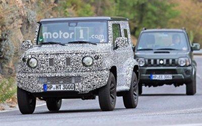 Новый Suzuki Jimny появится в России в 2018 году