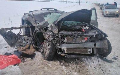 Пассажирка «Лады» погибла в ДТП в Марксовском районе Саратовской области