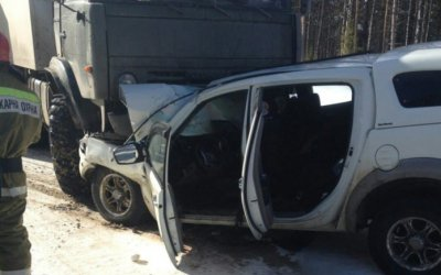 В Коми в ДТП с КамАЗом погиб человек