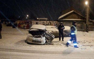 В ДТП в центре Омска погиб водитель без прав