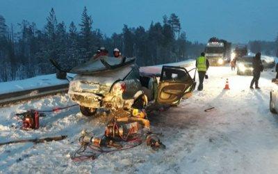Два человека пострадали в ДТП на трассе «Кола»