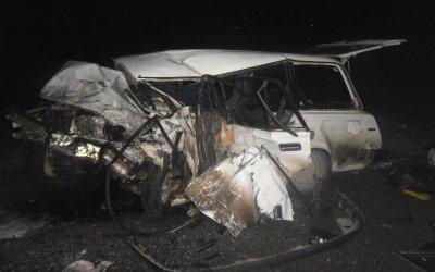В массовом ДТП в Первомайском районе погиб водитель