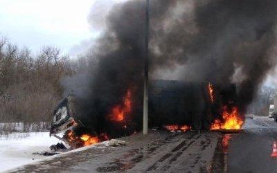В Рязанской области в ДТП с «Газелью» и фурой погиб человек