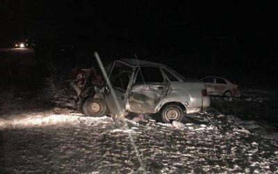 Два человека погибли и трое пострадали в ДТП под Богдановичем