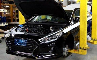 В России стартовало производство Hyundai Sonata