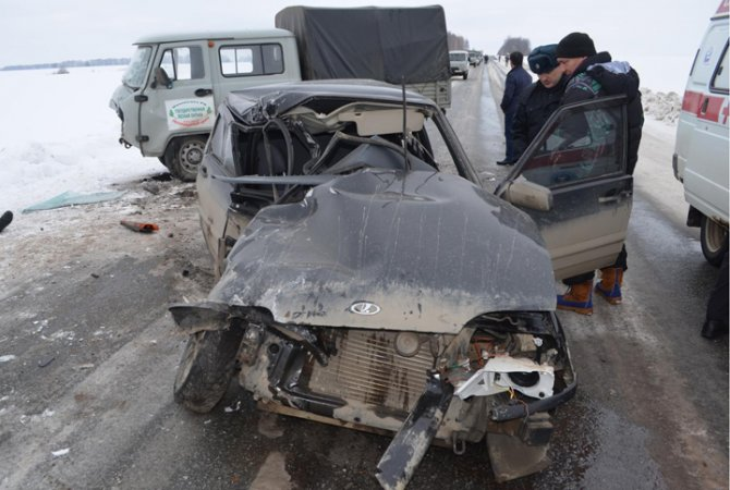 23-летний водитель погиб в ДТП в Башкирии (2)