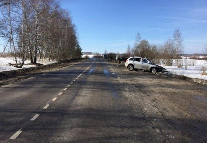 В ДТП под Вязниками погиб водитель «Лады»