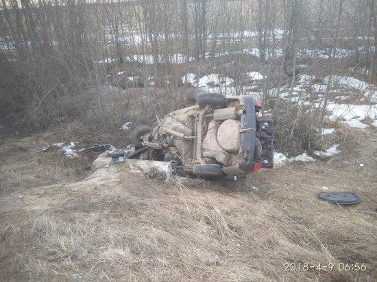 Водитель иномарки погиб в ДТП в Сонковском районе Тверской области