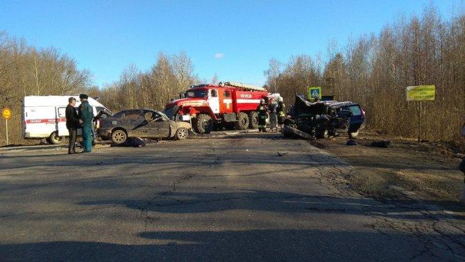 Три человека погибли в ДТП в Навашинском районе Нижегородской области