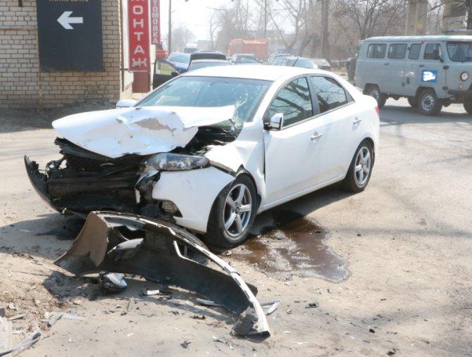 В Тамбове в ДТП пострадала женщина